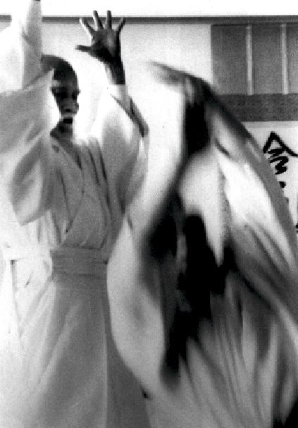 Morihei Ueshiba. Foto: Yasuo Kobayashi.