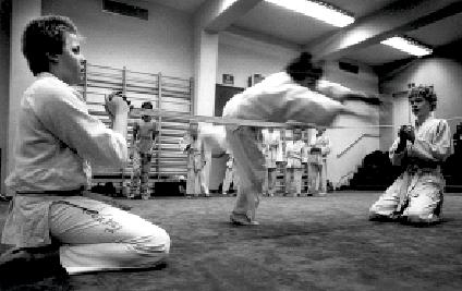 Järfälla. Foto: Magnus Hartmann. Kinder Aikido.