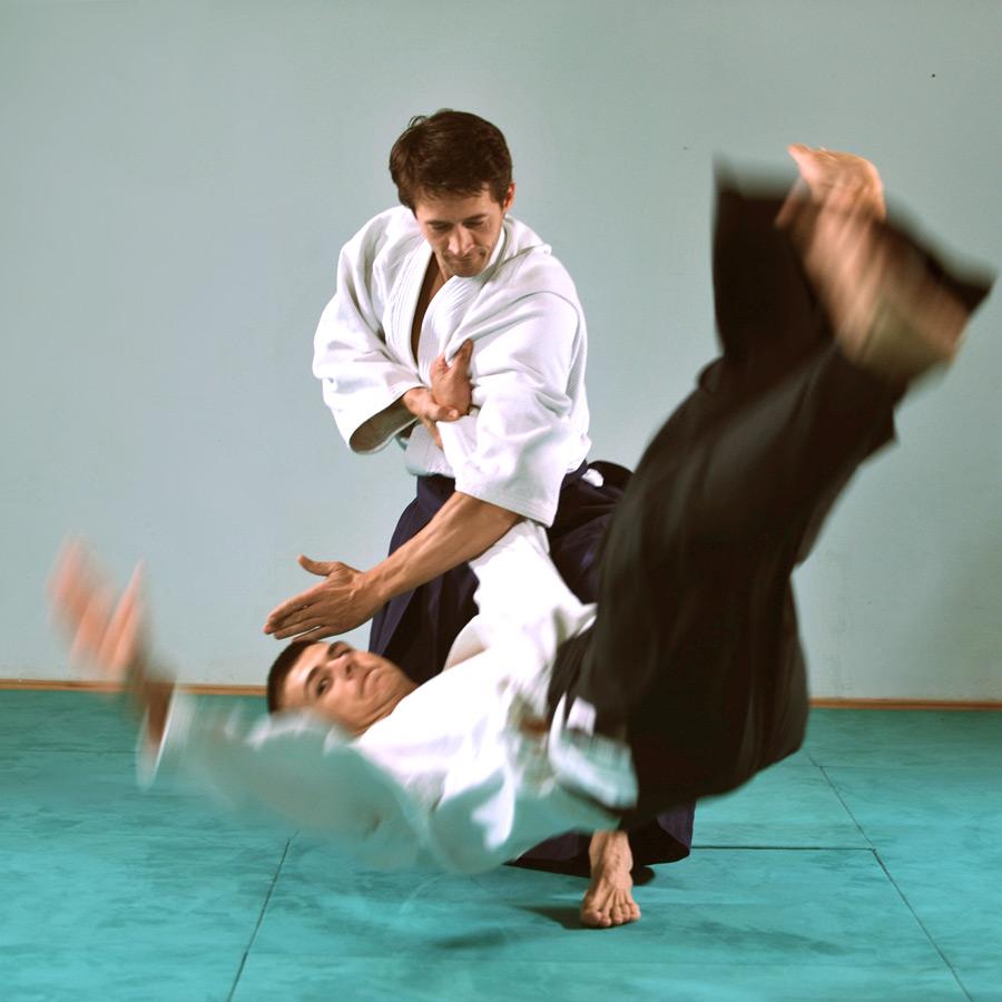 Aikido Berlin: Training für Fortgeschrittene - Wurf Kokyu Nage - Fallschule
