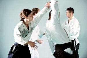 Aikido Training Gruppe