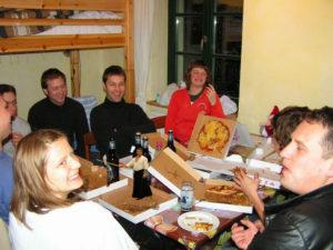 Fahrt Rostock Pizza