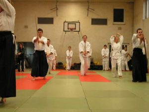 Aikido Schwert Training