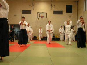 Aikido Schwert Training