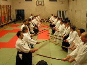 Schwert Kamae Gruppe