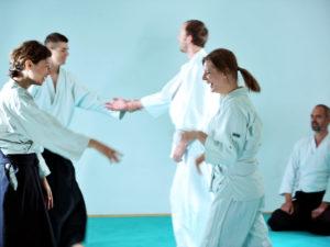 Aikido Training Gruppe Berlin Tanden Dojo