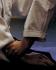 Aikido Buch Stefan Stenudd Cover, Angriff Suwariwaza Ryotedori