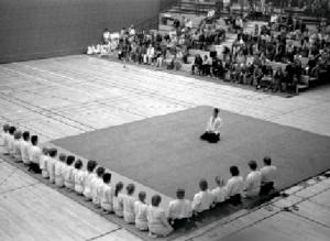 Brandbergen 1982. Aikido Training Gruppe.