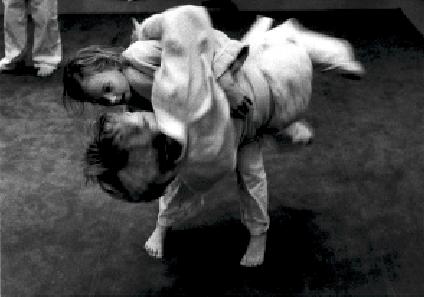 Foto: Magnus Hartman. Aikido Kinder.