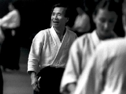 Nobuyoshi Tamura. Aikido Meister Sensei. Foto: Magnus Hartman.