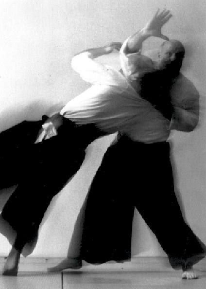 Ulf Evenås, Göteborg. Aikido Technik Iriminage. Foto: Jüri Soomägi.