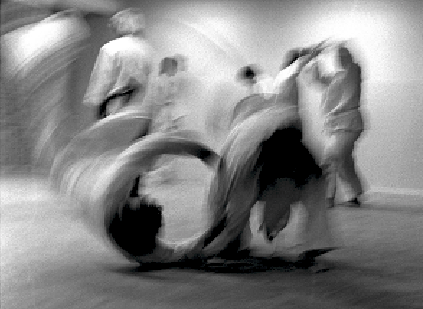 Brandbergen, Aikido Wurf Nage, c. 1984.