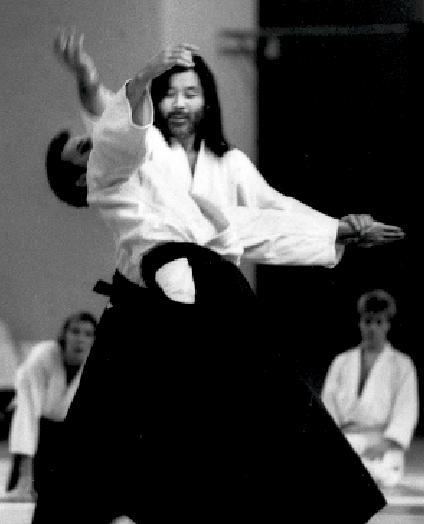 Seiichi Sugano. Aikido Technik Kokyu Ho.Foto: Magnus Hartman.