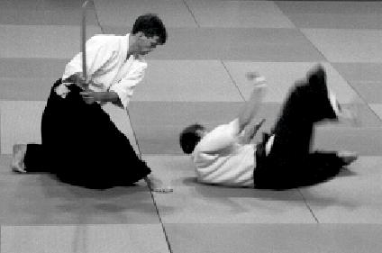 Knut Högvall, Aikido Ken Tachi Dori. Uppsala.