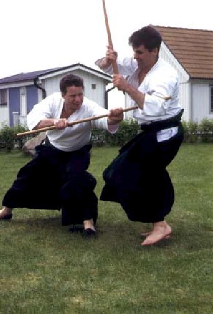 Stefan Stenudd und Håkan Karlsson, Ven.