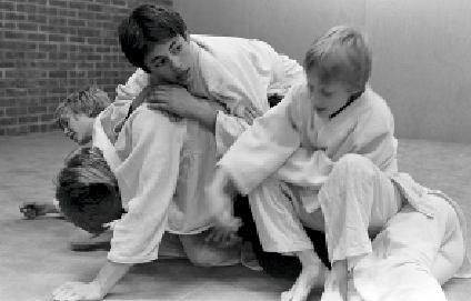 Brandbergen. Foto: Gunilla Welin. Aikido Kinder Training.