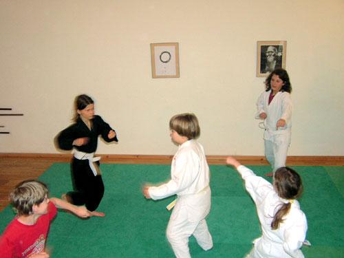Aikido Kinder Training Spiel, Berlin, Prenzlauer Berg