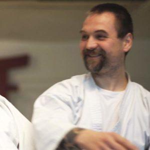 Henrik, Aikido Lehrer, Kinder und Erwachsene