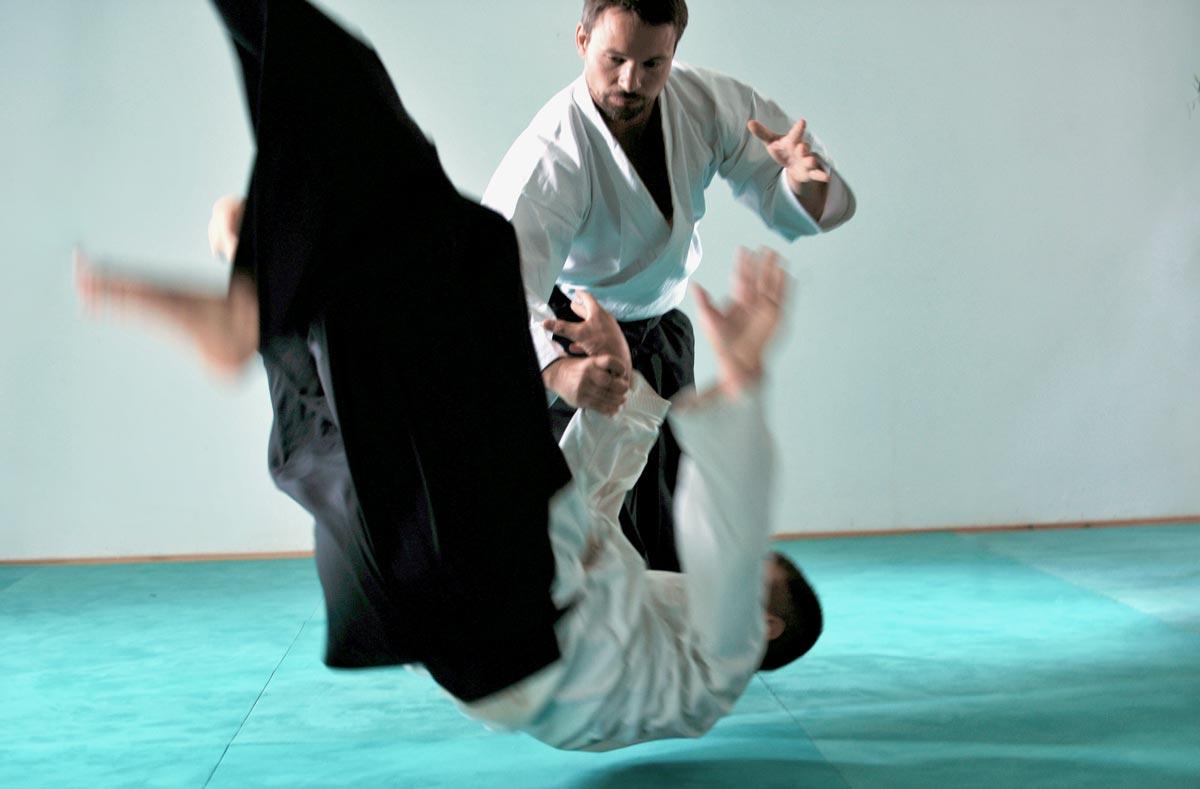 Aikido Technik Kokyu-Nage Wurf