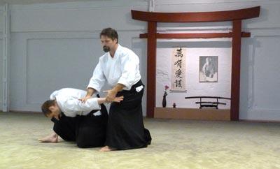 Aikido Ikkyo mit Konstantin Rekk Sensei aus Berlin
