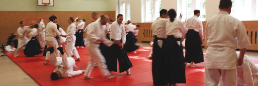 Aikido Training Einsteiger, Anfänger, Fortgeschrittene Berlin