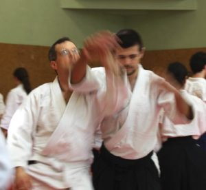 Aikido Technik Kokyuho beim Seminar in Berlin April 2015