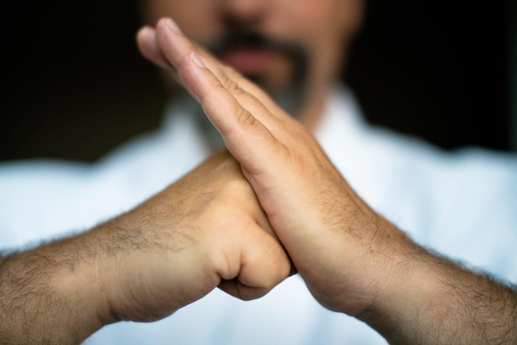 Kampfkunst Gruß Yin und Yang - Budo