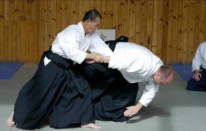 Tanaka Sensei, Aikido Ikkyo