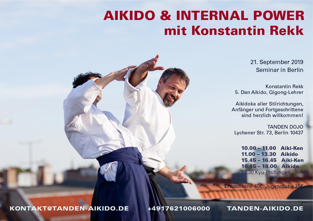 aikido seminar berlin 2019