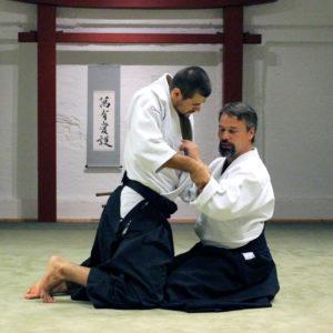 Entspannt die Haltung und Ausrichtung bewahren - Suwari Waza Aiki Age