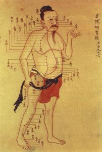 Akupunktur Leitbahn Magen, Traditionelle Chinesische Medizin