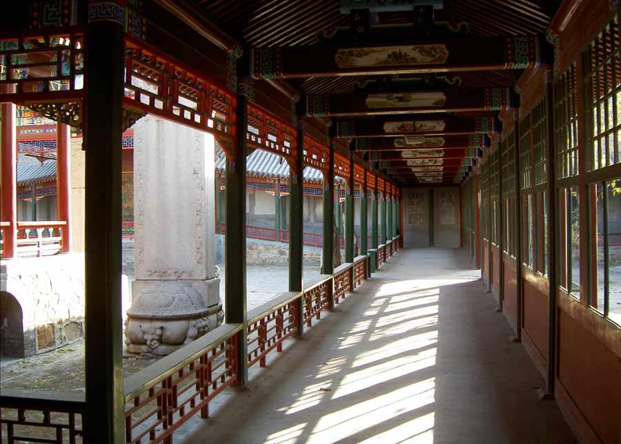 Baiyun Guan - Tempel der Weißen Wolken in Bejing