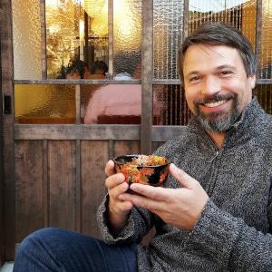 Konstantin Rekk - Tee-trinkend in Kyoto Japan